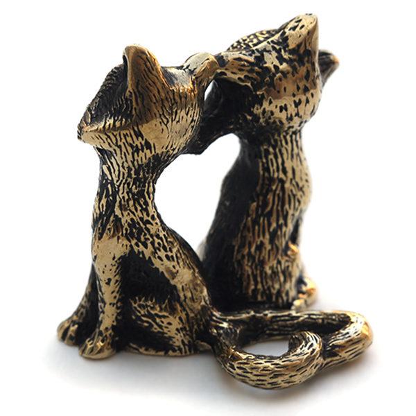 оригинальные подарки +ко дню святого валентина маленькие фигурки кошек крым симферополь