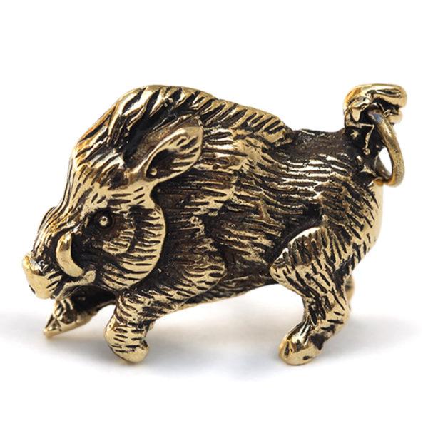 купить бронзовую фигургу кабана вепря подарок на новый год свиньи 2019 симферополь