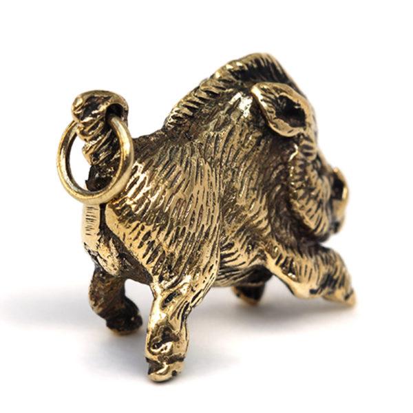 фигурка кабана из бронзы купить год кабана сувенир