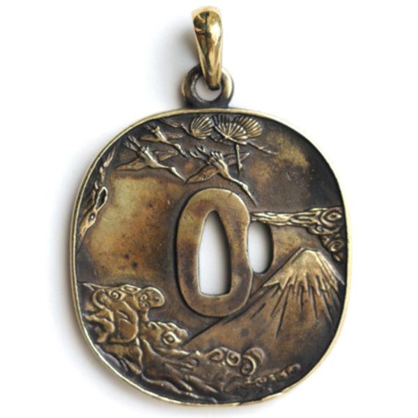 что подарить учителю джиу джитсу бронзовый кулон цуба