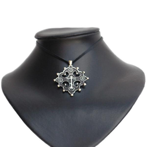 Процветший крест двенадцатиконечный Купить мужской старообрядческий нательный крест из бронзы купить в симферополе