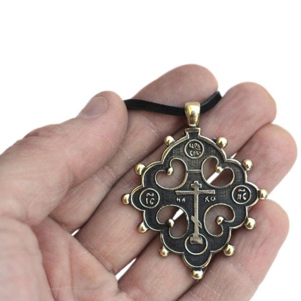 Раннехристианский крест староверов без распятия крест латунный староверов купить оптом в крыму
