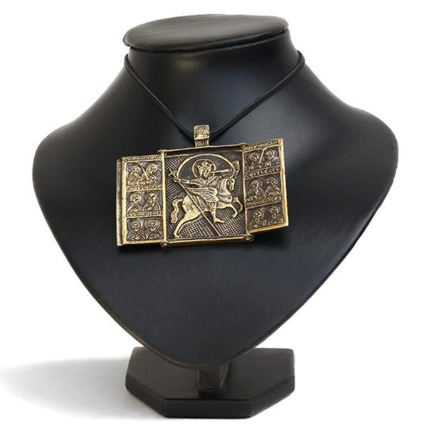 бронзовые иконы складни купить православная икона архангела михаила