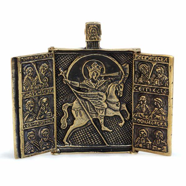 иконы для водителей в машину икона архангела михаила с мечом