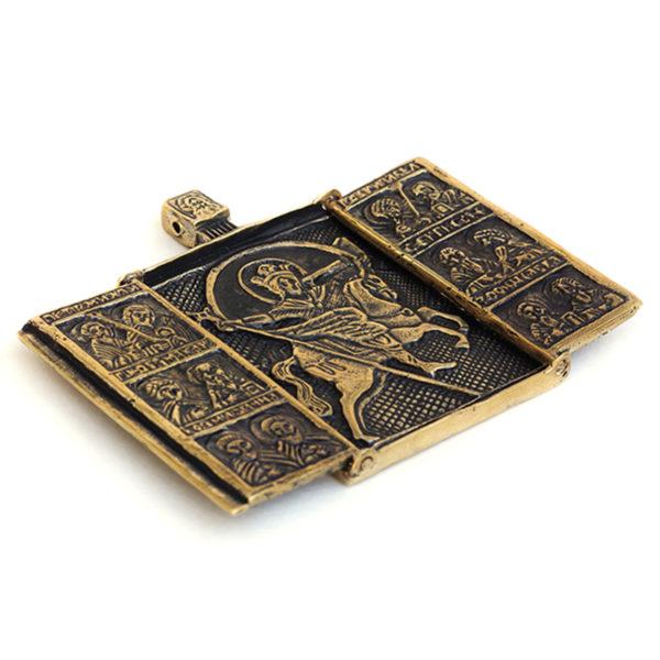 икона латунь цена икона архангел михаил воевода