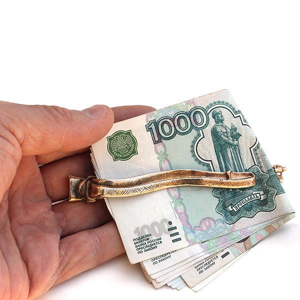зажим для денег металл подарки на день защитника отечества мужчинам