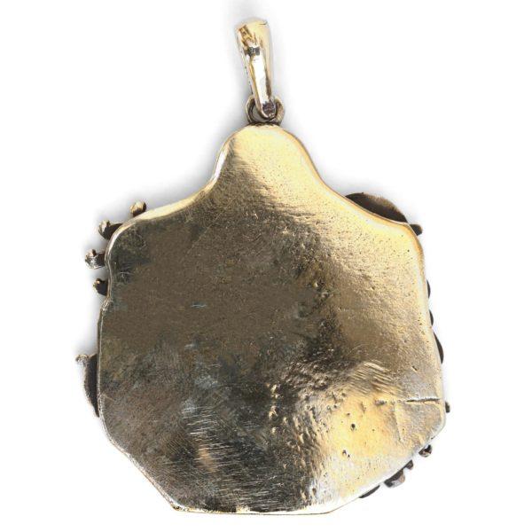 бронзовый кулон для девочки единорог