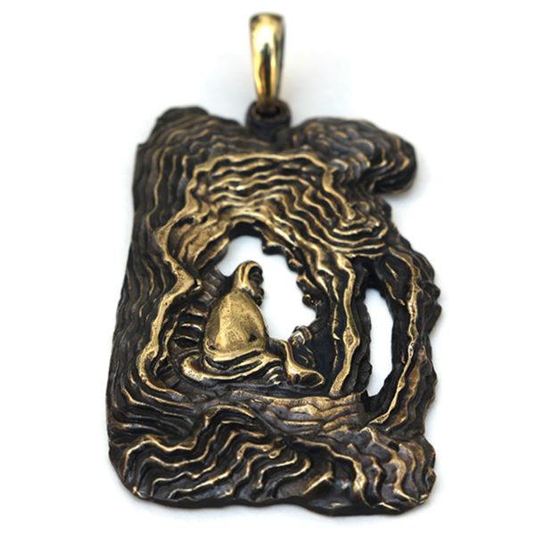 китайский талисман дао бронзовый кулон