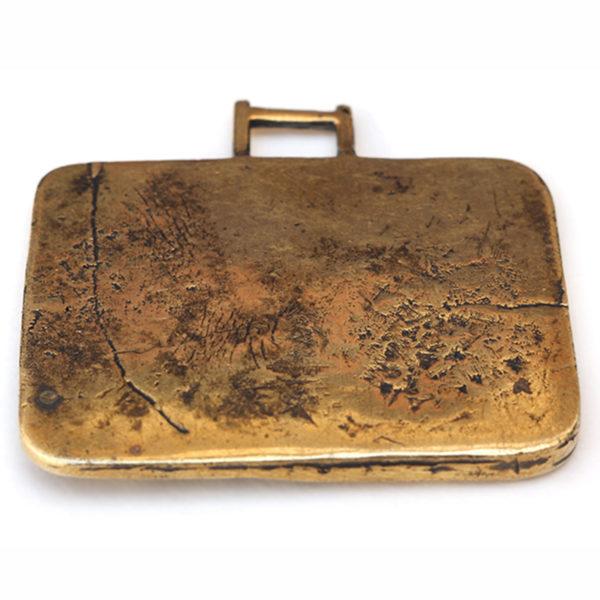 бронзовый кулон улитка и фудзи купить в симферополе в крыму оптом украшения
