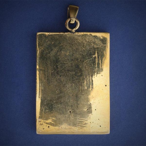 бронзовый кулон икона Архангел Михаил купить в крыму
