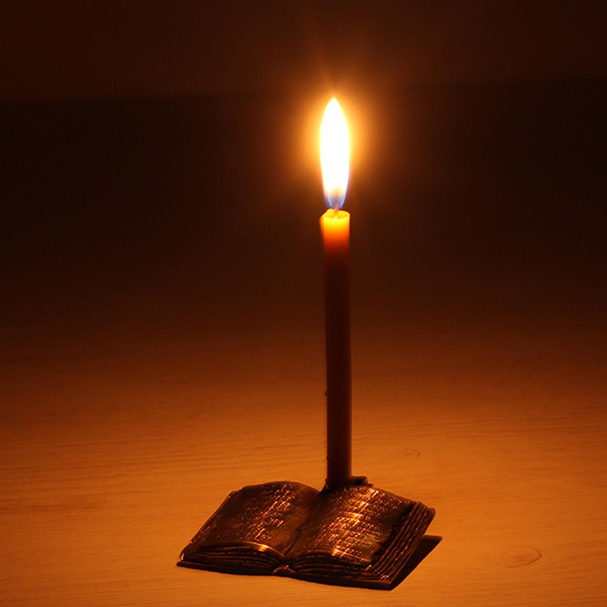 подсвечник латунный церковный подсвечник под тонкую свечу