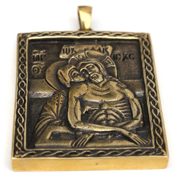 Не рыдай мене мати икона бронзовая привезти из крыма в подарок