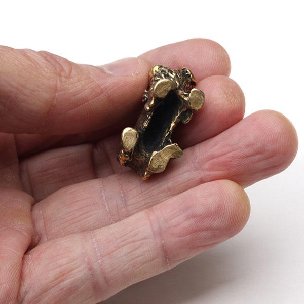 тотем собака подарок любителю собак пекинес статуэтка бронзовая купить