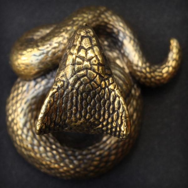 кобра бронзовая статуэтка кобра купить в симферополе подарок