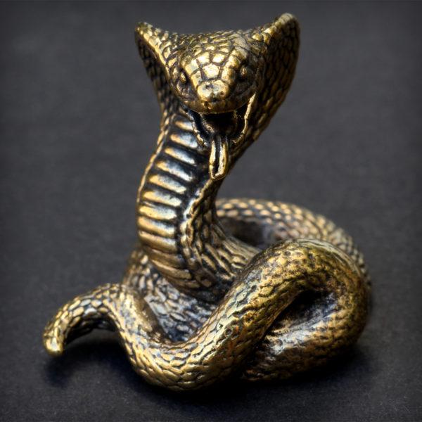 змея статуэтка бронзовая кобра купить в симферополе оптом