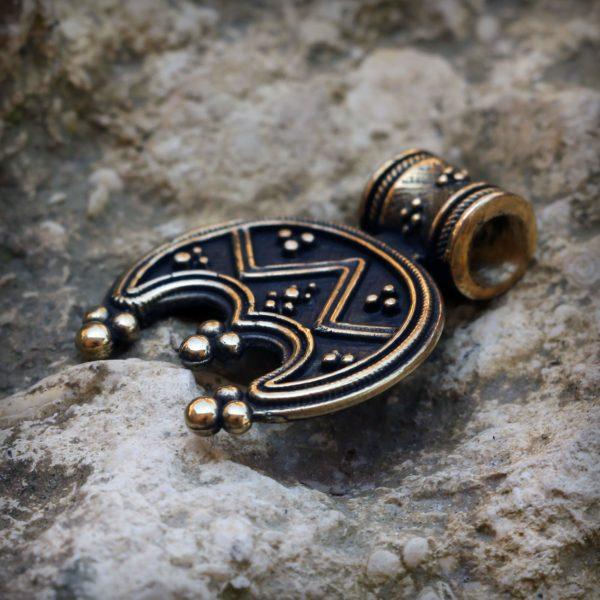 бронзовый кулон лунница трёхрогая купить в симферополе