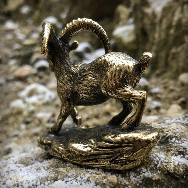 козёл статуэтка бронзовая купить в симферополе оптом в крыму подарок