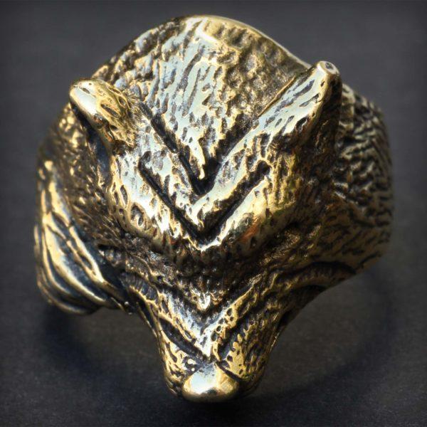 купить подарок парню в симферополе кольцо волк бронзовый