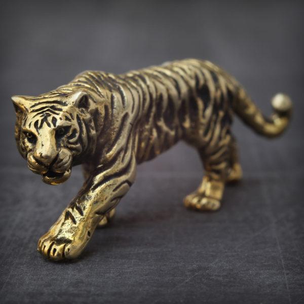бронзовые украшения оптом статуэтка тигр купить в симферополе