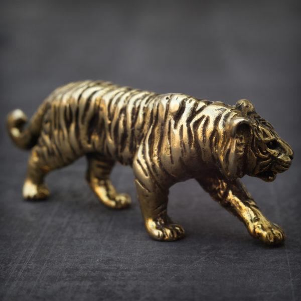 подарки на год тигра бронзовая фигурка статуэтка тигр купить в крыму