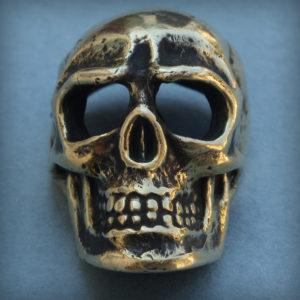 череп кулон бронзовый подвеска череп купить в симферополе в крыму оптом