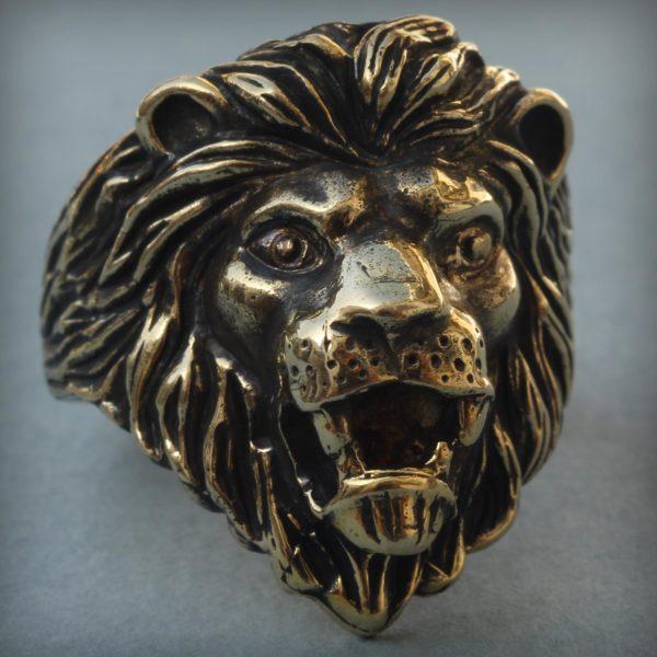 что подарить льву бронзовое кольцо лев купить оптом в симферополе