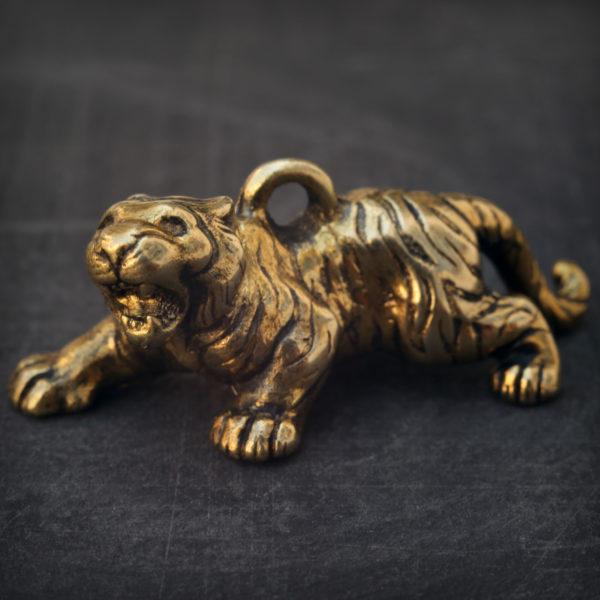 новогодний подарок 2022 тигр бронзовый брелок статуэтка тигр купить оптом в симферополе