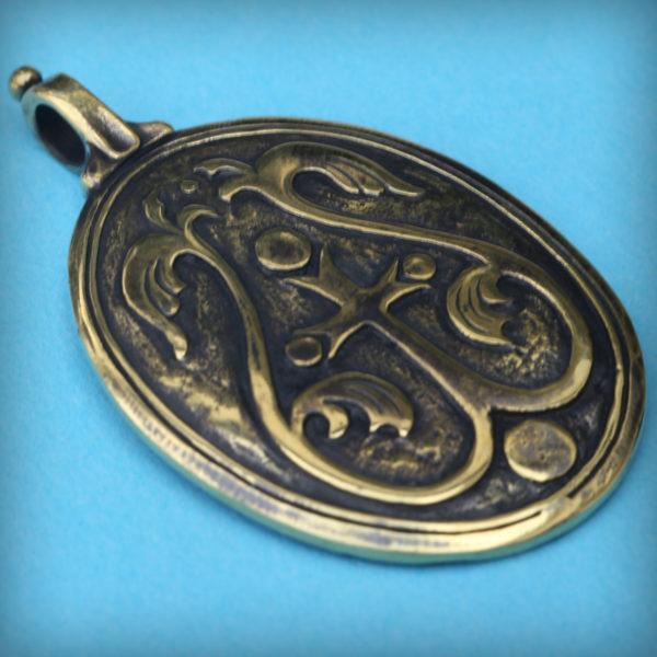 знамение пресвятой богородицы кулон процыетший крест бронзовые украшения оптом и в розницу