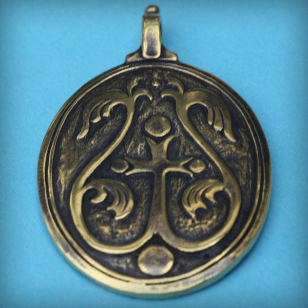 купить подарок в симферополе кулон бронзовый христианский оберег бронзовый