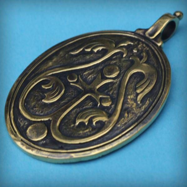 богоматерь знамение кулон бронзовый купить оптом и в розницу
