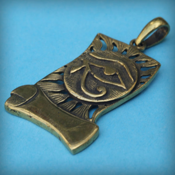 Ра амулет Глаз Гора купить в симферополе египетские амулеты бронзовый кулон купить оптом