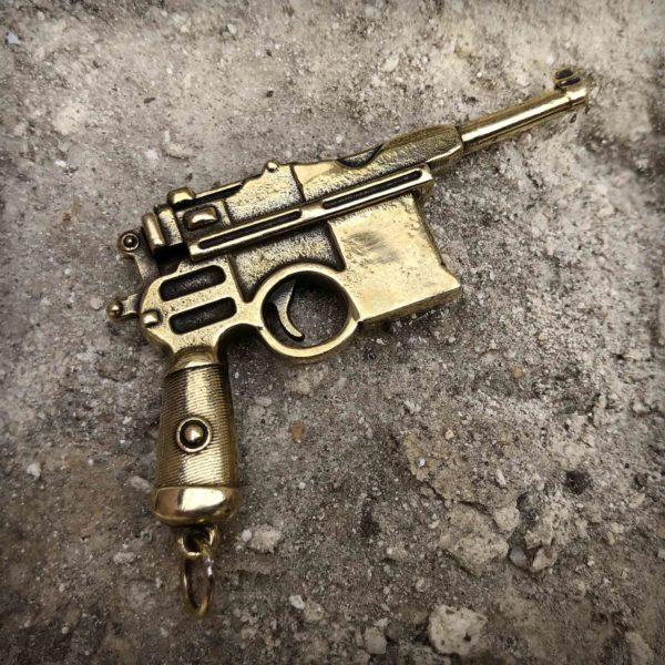 бронзовая модель пистолет маузер купить подарок парню в симферополе