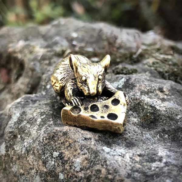 мышь бронзовая статуэтка купить в крыму