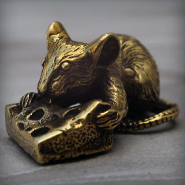 что привезти из крыма бронзовая статуэтка мышь статуэтка
