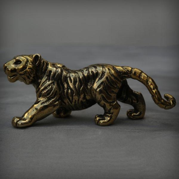 что привезти из крыма в подарок тигр бронзовая статуэтка высокая детализация